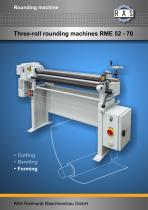 Rounding machine