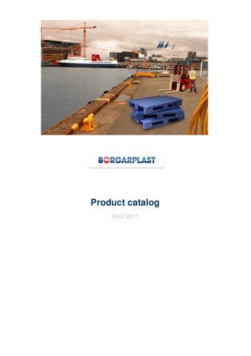 Heavy Duty Plastic Bulk Container type 610 E