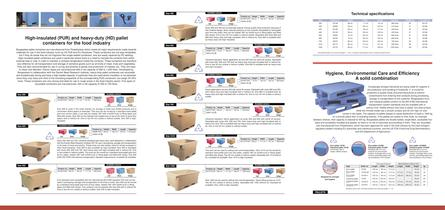 Pallet Containers (Tubs) for The Food Industry