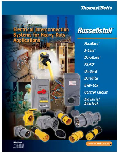Electrical Interconnection Systems for Heavy-Duty Applications