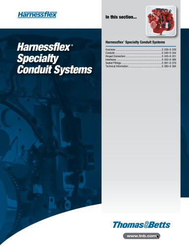 betts wiring harness harnessflex specialty conduit systems thomas   betts pdf best wiring harness for 1967 camaro harnessflex specialty conduit systems