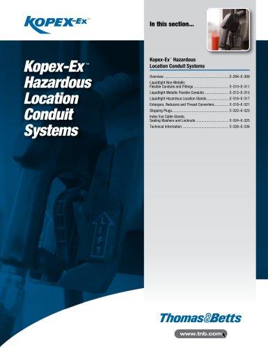 KopexEx Hazardous Location Conduit Systems