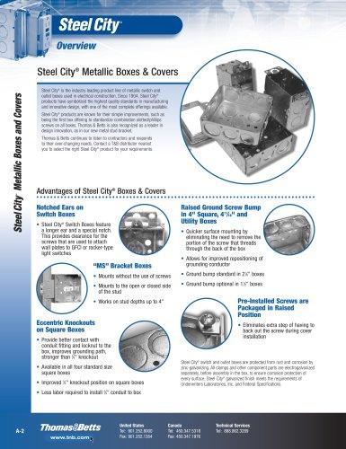 Steel City® Indoor Boxes & Covers