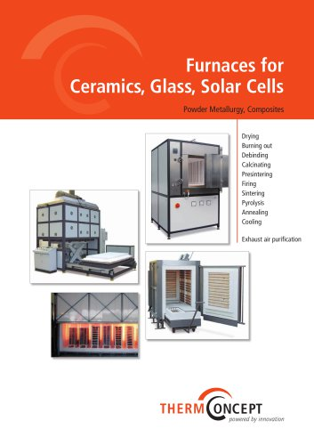 Furnaces for Ceramic, Glass and Solar Cells
