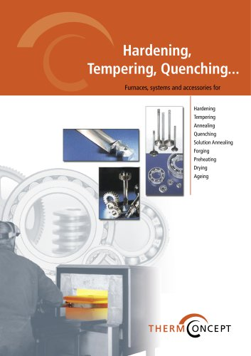 Hardening, tempering, quenching...