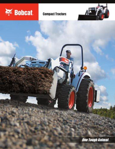 Compact Tractors - BOBCAT - PDF Catalogs   Technical