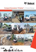 Excavators - Product range