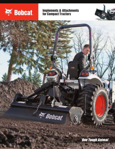 Implements & Attachments for Compact Tractors