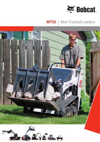 MT55 Mini Tracked Loaders