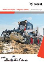 New Generation Compact Loaders - Product range