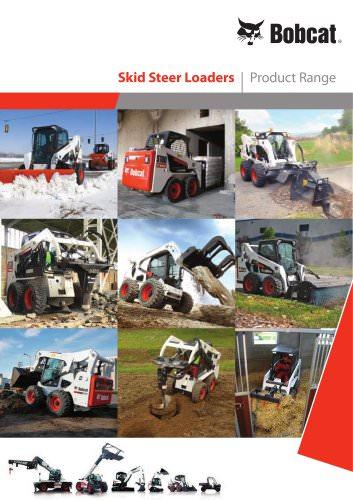 Skid Steer Loaders - Product range