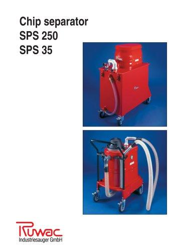 Chip separator SPS 250 SPS 35