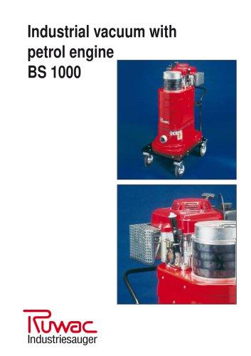 Industrial vacuum with petrol engine BS 1000