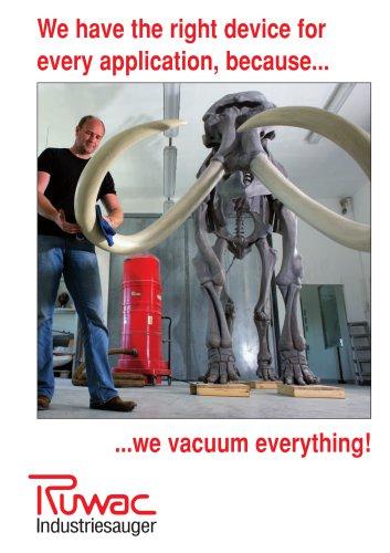 Ruwac Industriesauger GmbH Brochure en