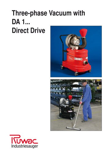 Three-phase Vacuum with DA 1... Direct Drive