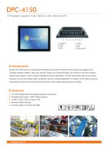 Darveen 15inch(4:3) Capacitive Touch Panel PC with Celeron J1900/DPC-4150 - 1