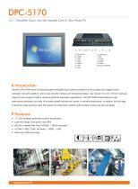 DPC-5170 Industrial Panel PC - 1
