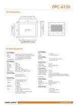 DPC-6150 Industrial Panel PC - 2