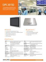 DPC-8150 Industrial Panel PC - 1