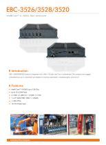 EBC-3526/3528/3520 Embedded Box PC - 1
