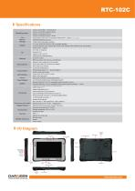 RTC-102C Rugged Tablet - 2