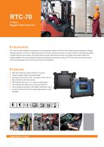 RTC-70 Rugged Tablet - 1