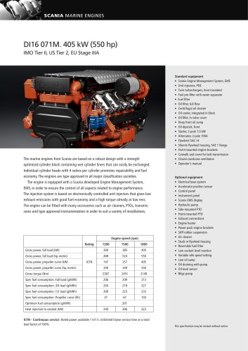 DI16071M_405kW - SCANIA Industrial & Marine Engines - PDF