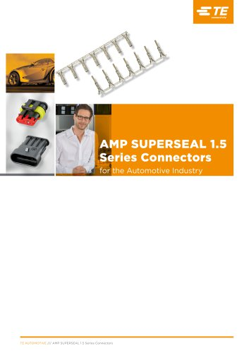 AMP SUPERSEAL 1.5 Series Connectors