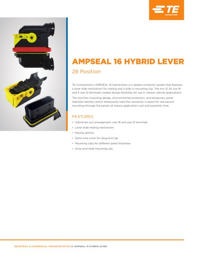 AMPSEAL 16 HYBRID LEVER