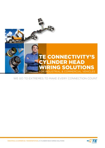 TE CONNECTIVITY'S CYLINDER HEAD WIRING SOLUTIONS