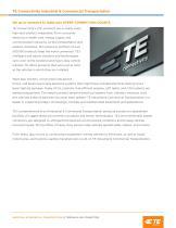 TE Terminals and Connectors - 4