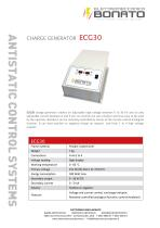 ECG-30 electrostatic charges generator