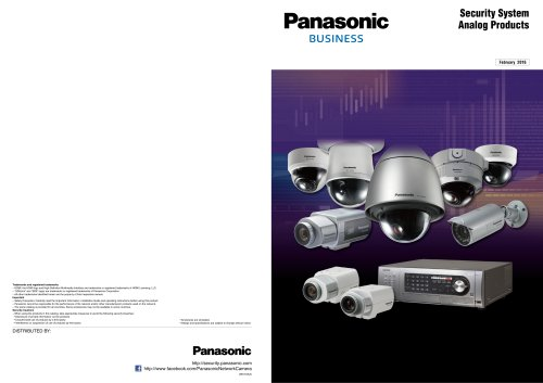 Security System Analog Products