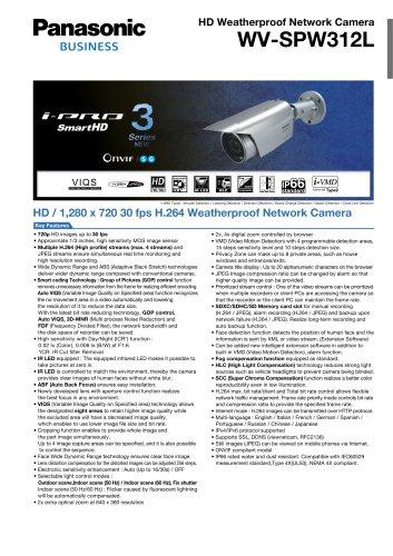 WV-SPW312L
