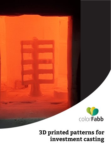 colorFabb - 3D Printed patterns for investment casting