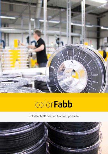 colorfabb catalogue