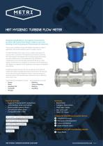 HBT Hygienic Turbine Flow Meter