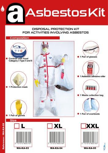 Kit Amiante - Asbestos kit