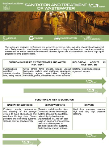 Profession Sheet - Sanitation and treatment of waste water