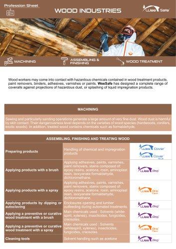 Profession Sheet - Wood Industries
