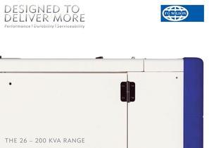 The 26 - 200 kVA Range