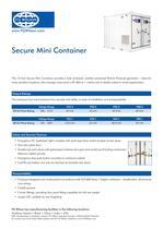 Secure Mini Container