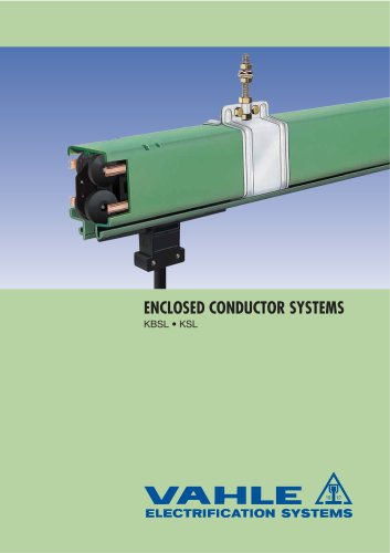 ENCLOSED CONDUCTOR SYSTEMS KBSL - KSL