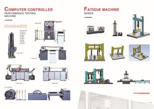HST Performance Testing Machine and Fatigue Testing Machine