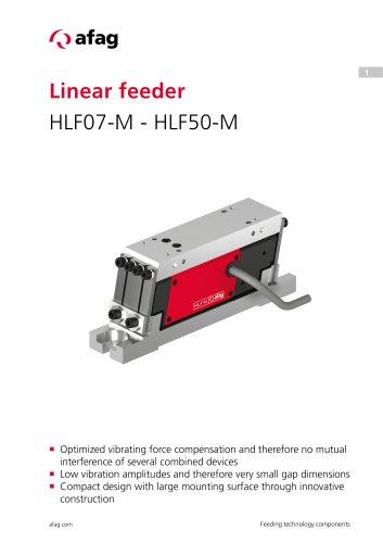Linear feeder HLF07-M - HLF50-M