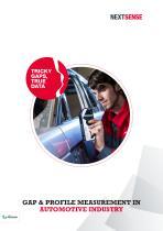 NEXTSENSE Automotive Product Brochure