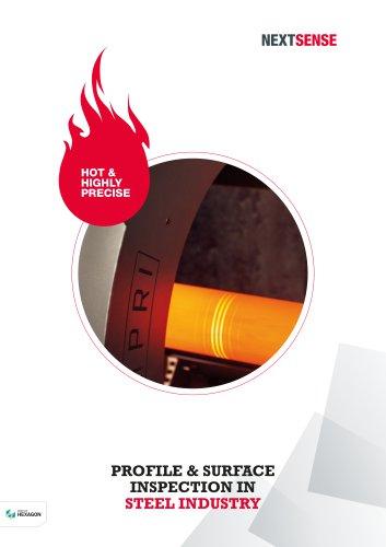 NEXTSENSE Steel Product Brochure