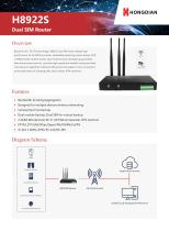 H8922 4G Router Brochure