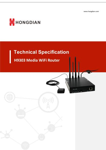 H9303 Media WiFi Router