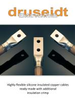 Highly flexible silicone insulated copper cables
